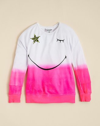 Flowers by Zoe Girls' Star Wink Sweatshirt - Sizes 4-6X