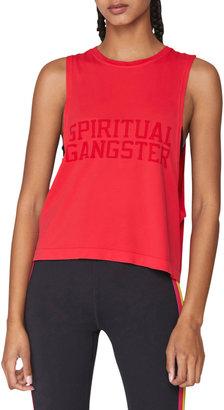 Spiritual Gangster Supernova Logo Muscle Tank