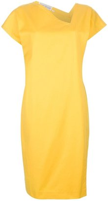 Versace Pre-Owned Asymmetric Neck Dress