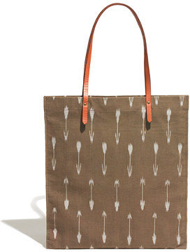 Madewell The Simple Tote in Arrow Ikat