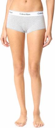 Calvin Klein Underwear Modern Cotton Boy Shorts $22 thestylecure.com