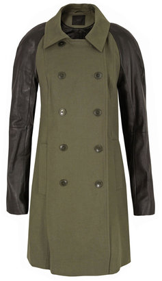 Gestuz Feld Olive Night Coat