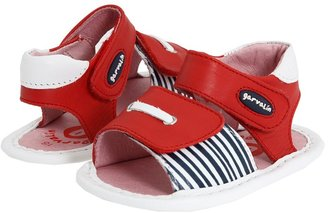 Garvalin Kids 112303 SP 11 (Infant) (White/Red) - Footwear