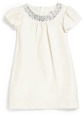 Milly Minis Little Girl's Rhinestone-Trimmed Dress