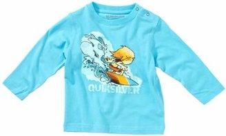 Quiksilver Long Sleeve Anti - UV Baby Boy's Shirt (Light Blue, 0 - 3 Months)
