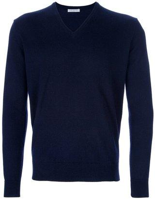 Manipur V-neck sweater