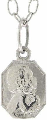 Cathy Waterman Classic Child Charm - Custom Engraved - Platinum