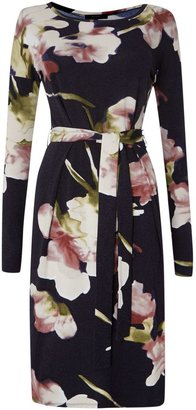 Max Mara Sumero floral printed jersey shift dress