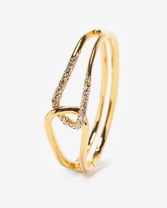 Alexis Bittar Gold Interlocked Bracelet