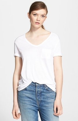 Women's T By Alexander Wang Pocket Tee
