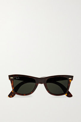 Ray-Ban - The Wayfarer Acetate Sunglasses - Tortoiseshell $150 thestylecure.com