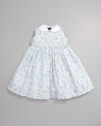 Oscar de la Renta Flowers Pinafore Dress