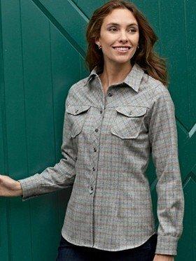 Pendleton Tattersall Plaid Fitted Shirt