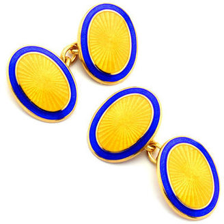 Aspinal of London Lacquer Enamel Cufflinks