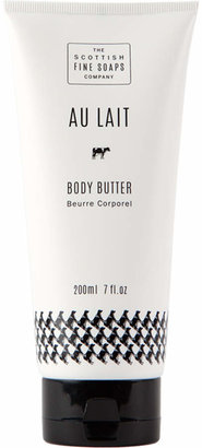 Scottish Fine Soaps Au Lait Milk Body Butter in a Tube by 7oz Tube)