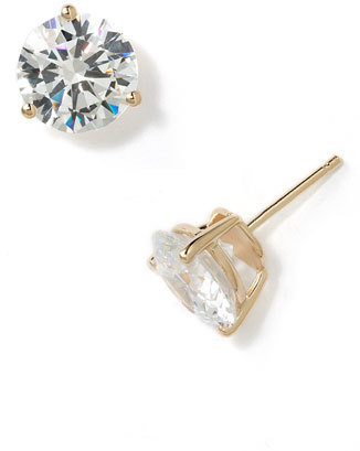 Women's Nordstrom Precious Metal Plated 8Ct Tw Cubic Zirconia Earrings $58 thestylecure.com