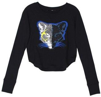 Tibi Nelio Cropped Sweatshirt