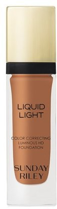 Sunday Riley 'Liquid Light' Breathable Perfecting Foundation $52 thestylecure.com