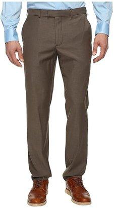 Perry Ellis Portfolio Modern Fit Flat Front Bengaline Pant