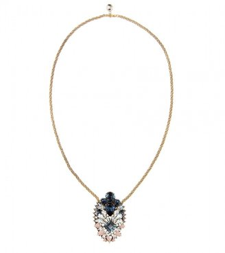 Shourouk Leitmotiv Helga embellished necklace