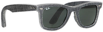 Ray-Ban RB2140 Original Wayfarer Denim 50mm Sunglasses $190 thestylecure.com