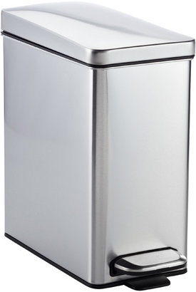 Container Store 2.6 gal. Profile Step Can Stainless Lid