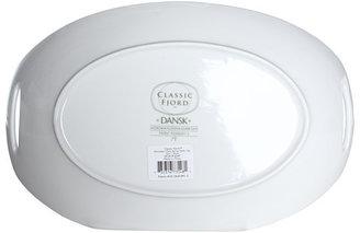 Dansk Classic Fjord Porcelain Oval Dish Large