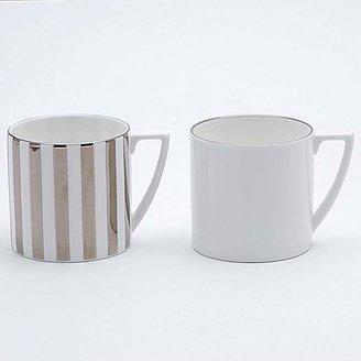 "Jasper Conran Wedgwood at Wedgwood ""Platinum Stripe"" Mini Mug"