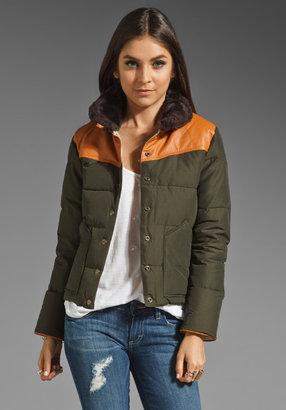 Penfield Rockwool Leather Yoke Jacket