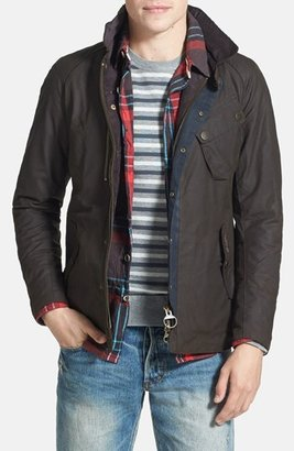 Barbour 'Cassells' Waterproof Waxed Cotton Jacket