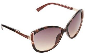 Cat Eye Colorblocked Sunglasses