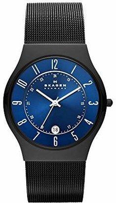 Skagen Men's Sundby Quartz Titanium and Stainless Steel Mesh Casual Watch
