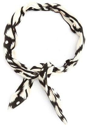 Charlotte Russe Ikat Print Wired Headband