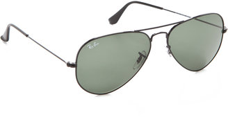 Ray-Ban Classic Aviator Sunglasses $150 thestylecure.com