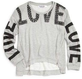 Flowers by Zoe Girl's Love Sweatshirt
