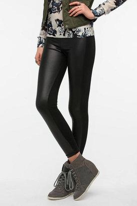 BDG Faux Leather Panel Legging