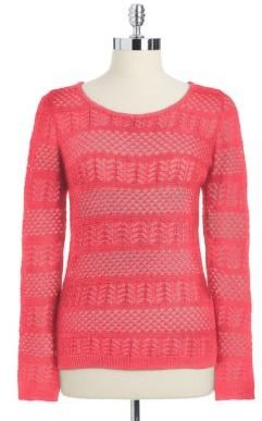 Calvin Klein Open Stitch Sweater