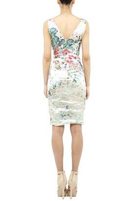 Nicole Miller Faint Floral Dress