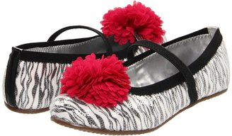 Stride Rite Buffy (Little Kid/Big Kid) (Zebra) - Footwear