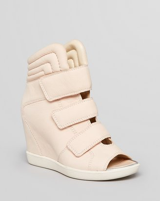 Boutique 9 Peep Toe Sneaker Wedges - Nerine