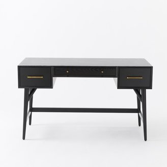 west elm Mid-Century Desk - Black