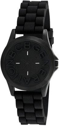 BCBGeneration Watch, Women's Black Silicone Strap 38mm GL4206