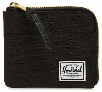 Herschel 'Johnny' Half Zip Wallet