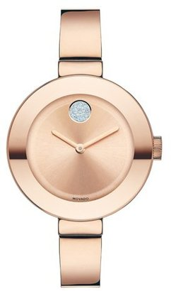 Women's Movado 'Bold' Crystal Accent Bangle Watch, 34Mm $595 thestylecure.com