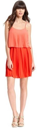 Tommy Hilfiger Tiered Pleated Dress