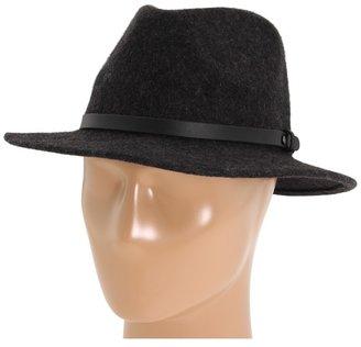Nixon Forest Fedora (Charcoal) - Hats