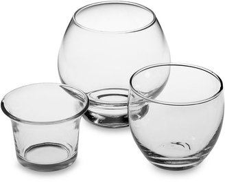 Bed Bath & Beyond Glass Tealight and Votive Candle Holders