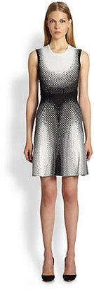 Ohne Titel Geometric-Print Dress