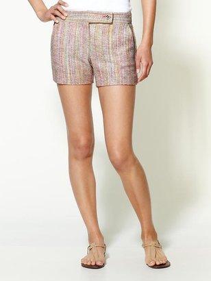 Trina Turk Gisela Yucatan Tweed Shorts