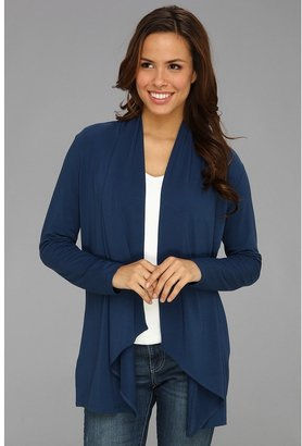 Tommy Bahama Tambour Cascade Cardigan (Blueberry) - Apparel